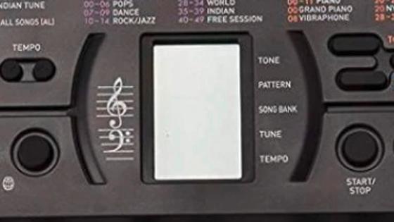 Teclado Mini SA-77 Casio