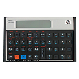 Calculadora Financiera Hp-12pt