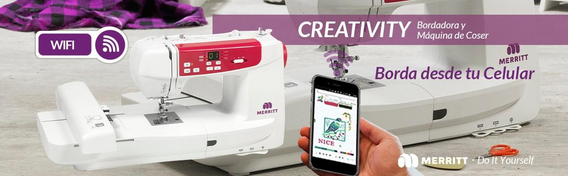 Merritt , Bodadora y maquina de coser