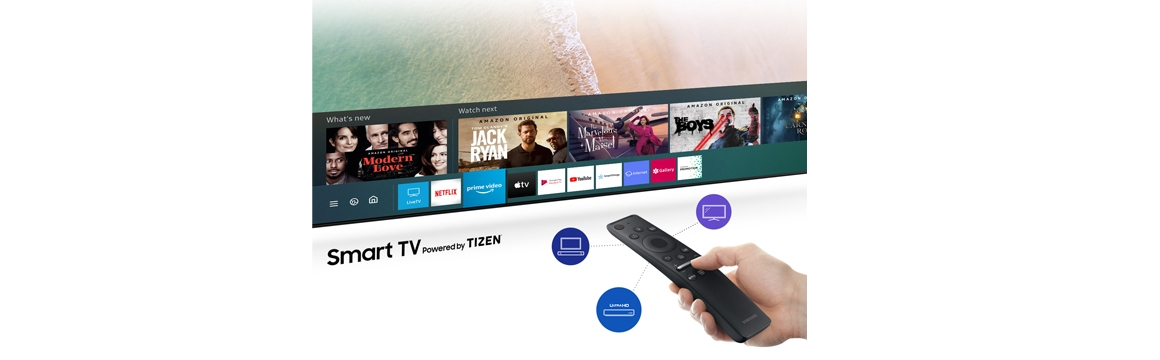 TU8200 Crystal UHD 4K Smart TV 2020