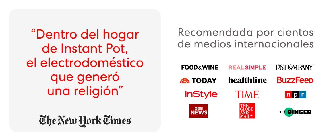 Instant Pot Duo Mini (3 litros), olla multicooker a presión eléctrica