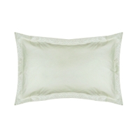 Funda Alm espig Aloe 50X70 Blanco