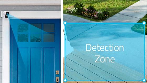 Zonas de detección inteligente