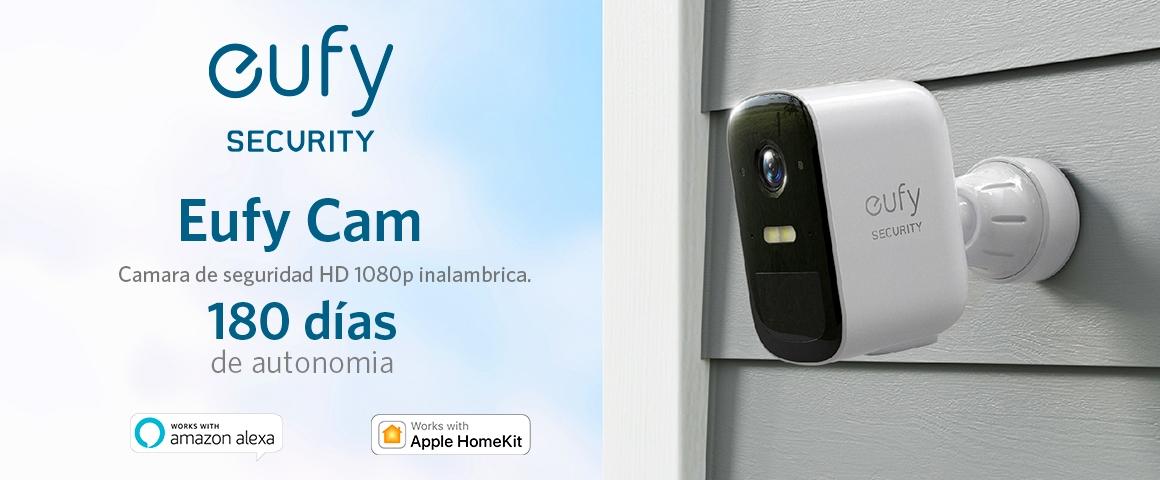 Camara de seguridad EufyCam 2C + 3Cam