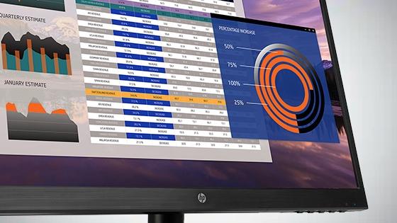 HP 22y Monitor respuesta de 5 ms