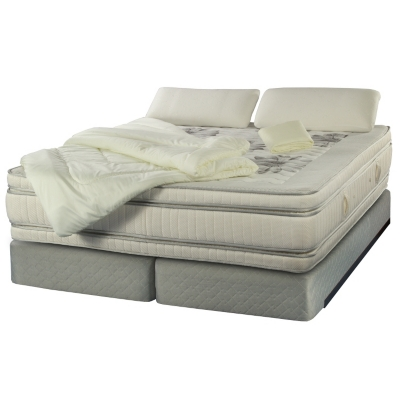 Box Spring Majesty King Base Dividida + Textil