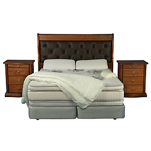 Box Spring Majesty King BD + Muebles + Textil