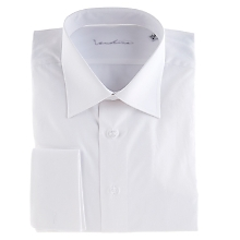 Camisa Lisa Blanca Regular Collera