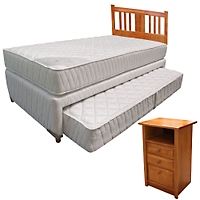 Divan cama uno 1 1 5 plazas respaldo for Falabella divan