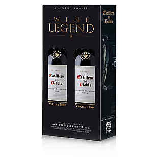 Casillero del Diablo Pack 2 Vinos Cabernet Sauvignon