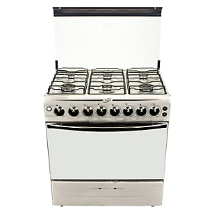 Cocina 6 Quemadores F2990 Silver