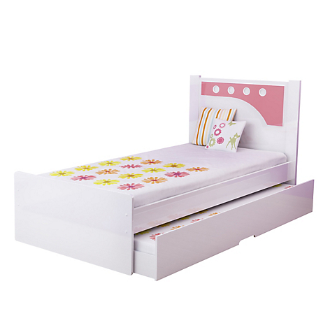 Mica cama bibox bolin blanco azul for Camas de 1 plaza baratas