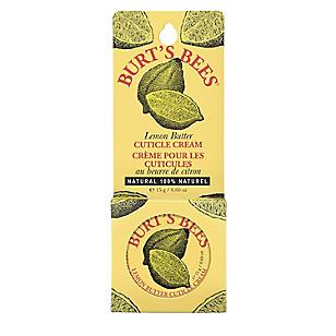 Crema para Cutículas de Mantequilla de Limón
