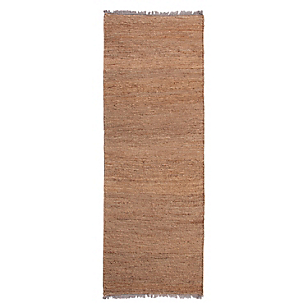 Alfombra Jute Braided Natural 80 x 240 cm