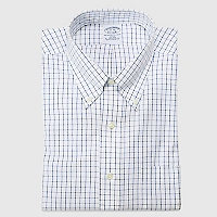 Camisa Cuadros Azul Regent