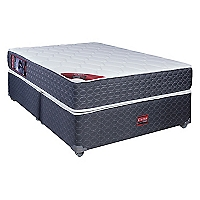 Box Americano Active Pro Grafito 2 Plazas Base Dividida