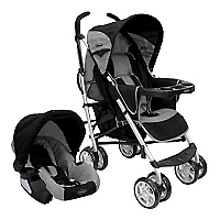 Coche Travel System Gris A7008
