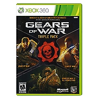 Juego Xbox 360 Gears of War Triple Pack