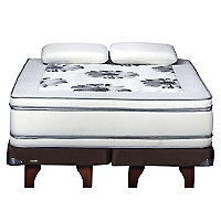 Cama Europea Majesty 2 Plazas BD + 2 Almohadas