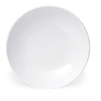 Plato Sopa Porcelana Blanca