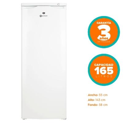 Freezer Vertical MFV 545B  165 lt