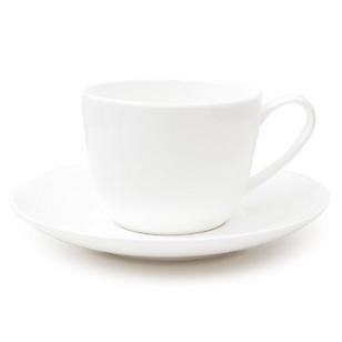 Taza Té con Platillo Blanco