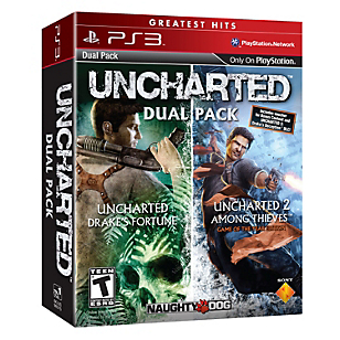 Juego UNCHARTED Greatest Hits Dual Pack PS3