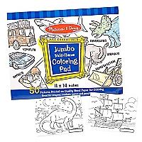 Jumbo Coloring Pad Blue