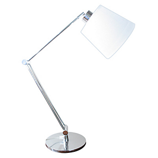 Lámpara Sobremesa Articulada Cromo