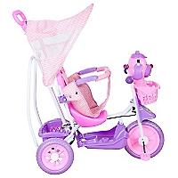 Triciclo con Figura Rosado