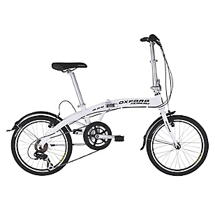 Bicicleta Aro 20 Plegable Blanco