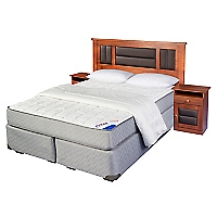 Box Spring Therapedic King BD + Muebles + Textil