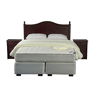 Box Spring Therapedic King BD + Textil + Muebles