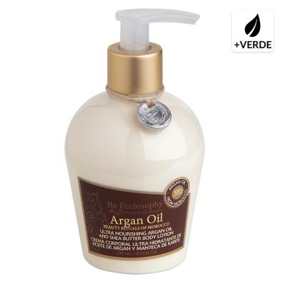 Crema Corporal Ultra Hidratante de Aceite de Argán 250 ml