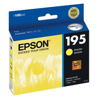 Tinta 195 Yellow