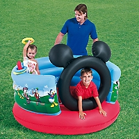 Gimnasio Inflable Mickey