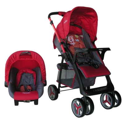 Coche Travel System Dog Red 5212T