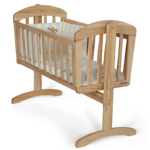 Cuna de Madera Crib Breeze Natural