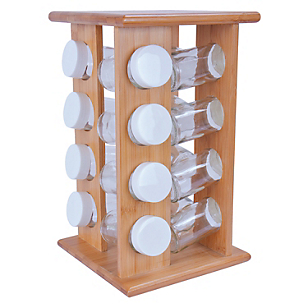 Rack 16 Especieros Bamboo