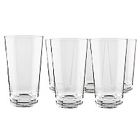 Set 6 Vasos Altos Cono