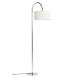 Lámpara de Pie Curva Cromo