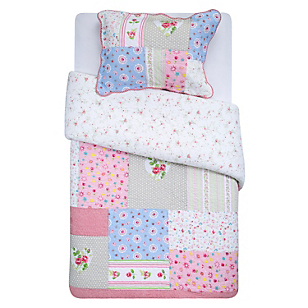 Quilt Patch Luminosa Janice 1.5 Plazas