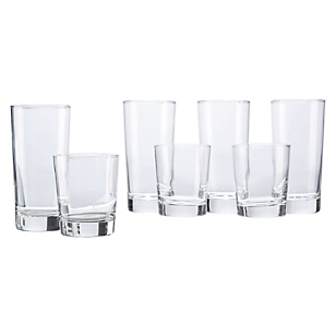 Set 24 Vasos Clear