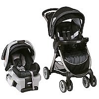 Coche Travel System Fast Action Negro