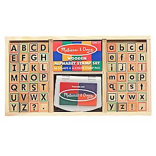 Timbres de Madera Alfabeto