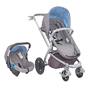 Coche Travel System Epic 3G Night Gris