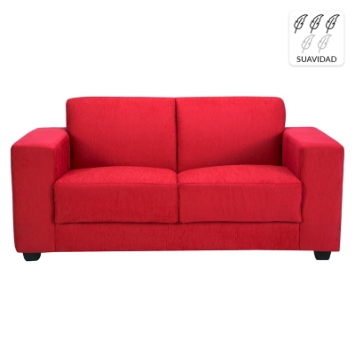Mica sof 2 cuerpos new gume tela 160 cm for Couch 160 cm