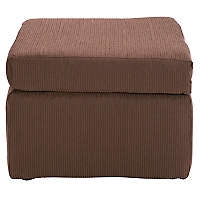 Pouf New Gume Tela Chenille Chocolate