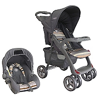 Coche Travel System H005 Gris