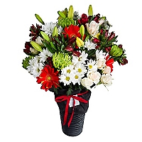 Arreglo 35 Flores Surtidas
